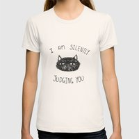 Cats Womens Fitted Tee Natural SMALL