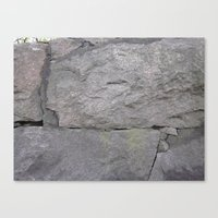 Getting stone walled Canvas Print