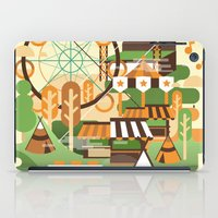 Let's Camp, Shall We? iPad Case