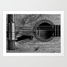 Country Music Art Print