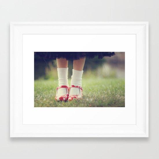Mary Jane Framed Art Print