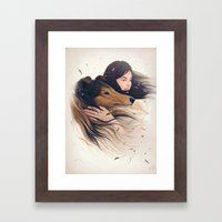 Antaeus Framed Art Print