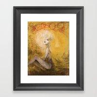 Tumult Framed Art Print