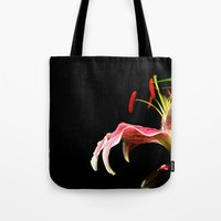 lone lily Tote Bag