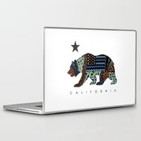 california Laptop & iPad Skins featuring California by TAM ♡