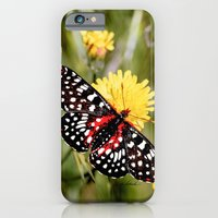 A Red Dotted Checkerspot iPhone 6 Slim Case