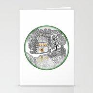 Round Barn Inn, Waitsfie… Stationery Cards