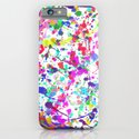 Paint Splatter 1 - White iPhone & iPod Case