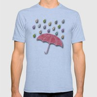 It's raining, it's pouring Mens Fitted Tee Athletic Blue SMALL