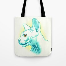 Sphynx cat #01 Tote Bag