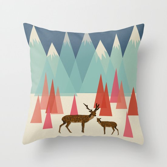 Climb Every Mountain Throw Pillow