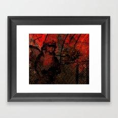 the vanished Framed Art Print