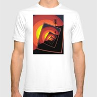 T-shirt featuring Disc Golf Spinning Baske… by Phil Perkins