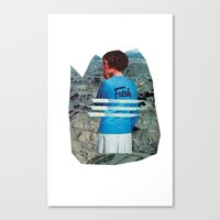 Canvas Print featuring Fresh to Death by Alicia Ortiz