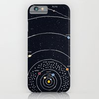 iPhone Cases featuring Solar system by James White
