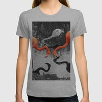 Matthew Cole Photography Womens Fitted Tee Athletic Grey SMALL