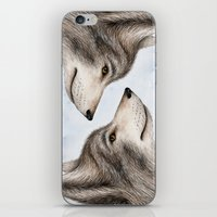 Eastern Wolf iPhone & iPod Skin