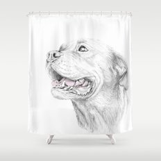 Murphy :: Loyalty Shower Curtain