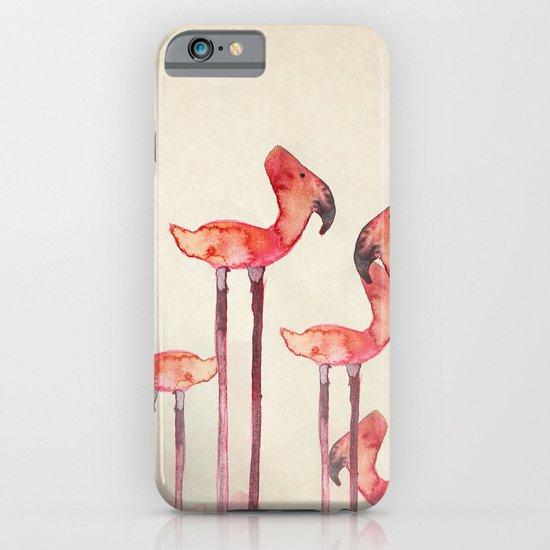 transmogrified flamingo colony iPhone & iPod Case