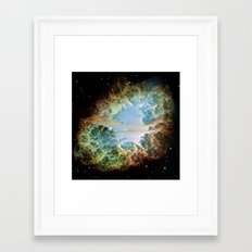 Crab Nebula Framed Art Print