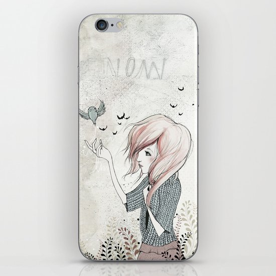 My Heart Carries Me Through iPhone & iPod Skin
