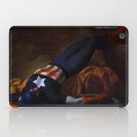 Death Of Captain America iPad Case