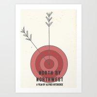 North by Northwest #1 Art Print