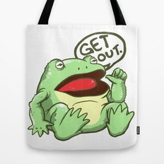 GET OUT. Tote Bag