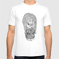 Bach Is Dead Mens Fitted Tee White SMALL