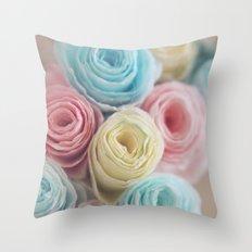Spring into Life Throw Pillow