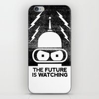 The Future Is Watching iPhone & iPod Skin