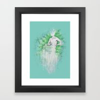 Love As Pain - Anahata I… Framed Art Print