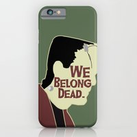 iPhone & iPod Case featuring Frankenstein - We Belong Dead by Swell Dame
