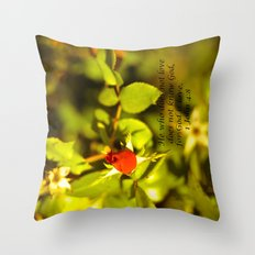 His Love Throw Pillow