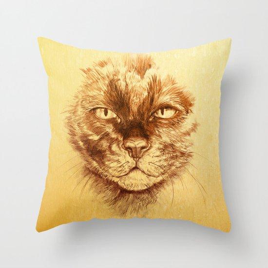 KITTEE Throw Pillow