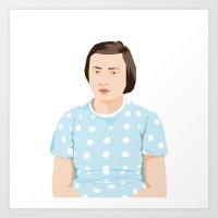 Louise Art Print