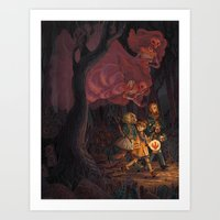 The Middle of the Night Art Print