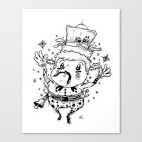 Star Catcher Canvas Print