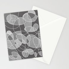 Tangled in B&W Stationery Cards