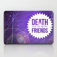 Mortem Et Omnibus Amicis iPad Case