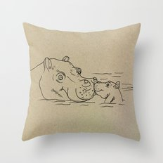 NB nr2 Throw Pillow