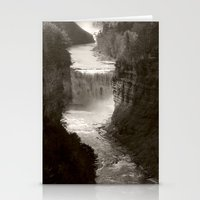 River gorge Stationery Cards