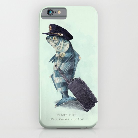 The Pilot (colour option) iPhone & iPod Case