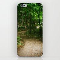 Down A Path iPhone & iPod Skin