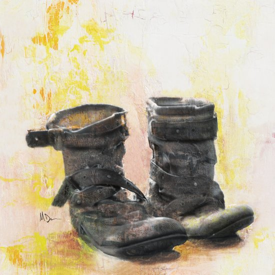 Boots in the Hall Art Print