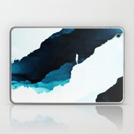 Laptop & iPad Skin featuring Teal Isolation by Stoian Hitrov - Sto