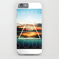 iPhone & iPod Case featuring Awaken Your Soul by bionicman31