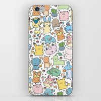 Kawaii Pokémon iPhone & iPod Skin