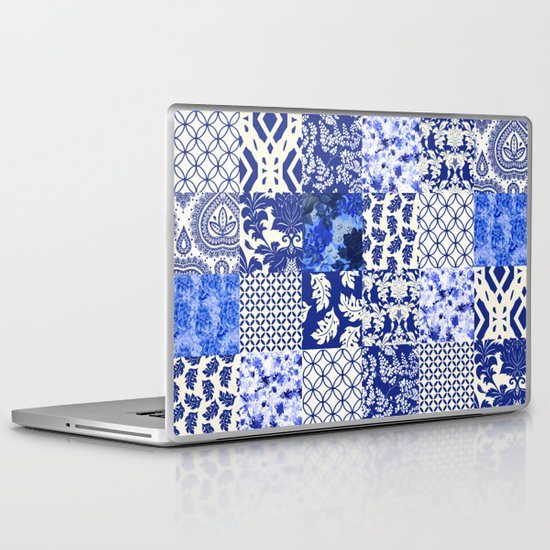 Blue Is Just A Mood Laptop & iPad Skin