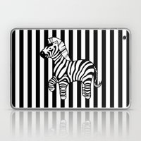 zebra stripe Laptop & iPad Skin